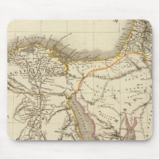 Middle East atlas map Mouse Pad