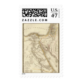 Middle East atlas map Postage
