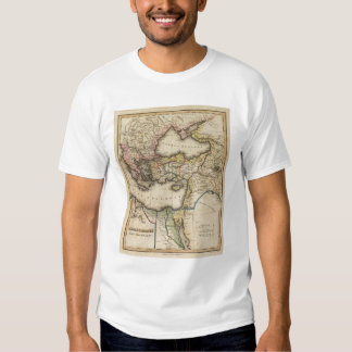 Middle East Atlas Map Shirt