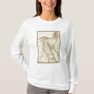 Middle East atlas map T-Shirt