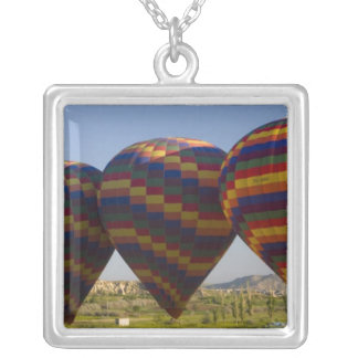 Middle East central part of Turkey in Cappadocia 2 Silver Plated Necklace