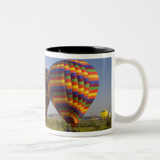 Middle East central part of Turkey in Cappadocia 2 Two-Tone Coffee Mug
