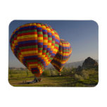 Middle East central part of Turkey in Cappadocia Rectangular Photo Magnet