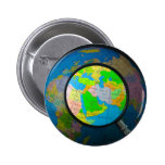 Middle East in focus Pinback Button