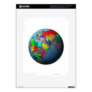 Middle East on Globe iPad 3 Skins