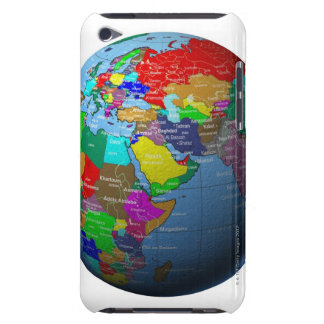 Middle East on Globe iPod Touch Case-Mate Case