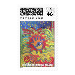 Middle East Peace Camp for Children Postage Stamp