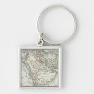 Middle East, South Asia Keychain