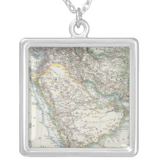 Middle East, South Asia Silver Plated Necklace