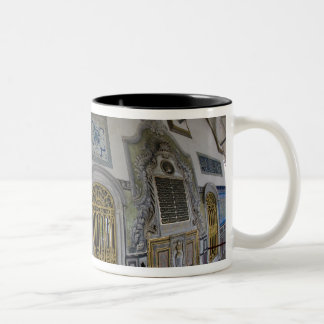 Middle East Turkey and city of Istanbul with the 2 Two-Tone Coffee Mug
