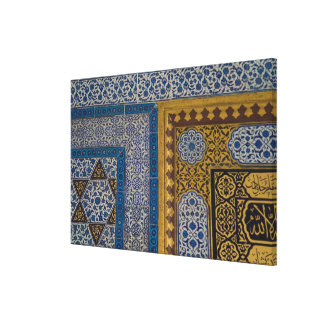 Middle East Turkey and city of Istanbul with the Gallery Wrapped Canvas