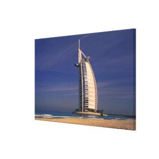 Middle East, United Arab Emirates, Dubai, Burj Stretched Canvas Prints
