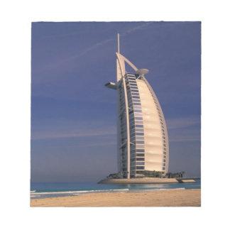 Middle East, United Arab Emirates, Dubai, Burj Notepad