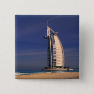 Middle East, United Arab Emirates, Dubai, Burj Pinback Button