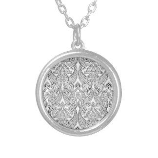 Middle Eastern Arabic Pattern Pendant