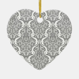 Middle Eastern Arabic Pattern Christmas Tree Ornament