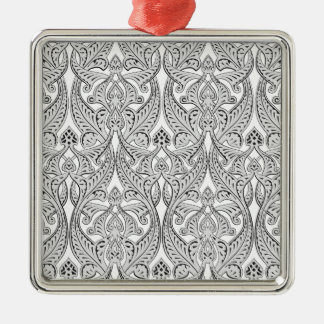 Middle Eastern Arabic Pattern Christmas Ornaments