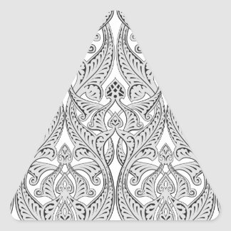 Middle Eastern Arabic Pattern Triangle Stickers
