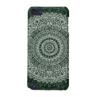 Middle eastern green hippy pattern iPod cover iPod Touch (5th Generation) Cover