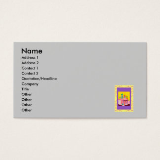 middle eastern market business card