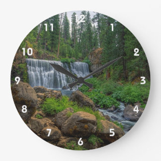 MIDDLE FALLS 2B LARGE CLOCK