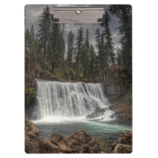 MIDDLE FALLS ON THE McCLOUD Clipboard