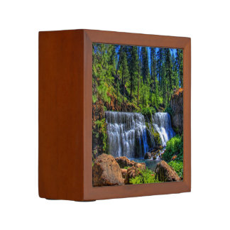 MIDDLE FALLS ON THE McCLOUD Pencil Holder