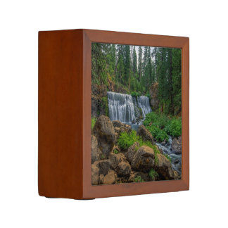 MIDDLE FALLS ON THE McCLOUD Pencil/Pen Holder