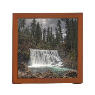 MIDDLE FALLS ON THE McCLOUD Desk Organizer