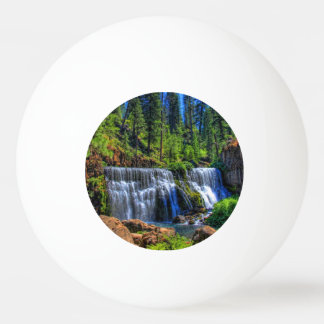 MIDDLE FALLS ON THE McCLOUD Ping-Pong Ball