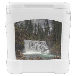 MIDDLE FALLS ON THE McCLOUD Igloo Roller Cooler
