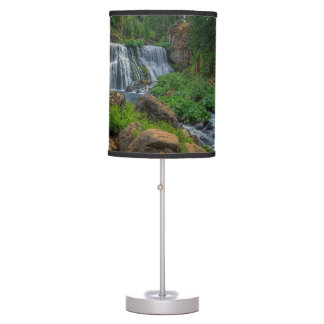 MIDDLE FALLS ON THE McCLOUD Desk Lamps