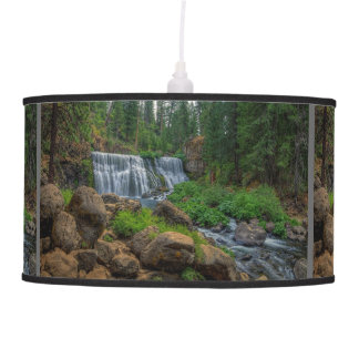 MIDDLE FALLS ON THE McCLOUD Ceiling Lamp