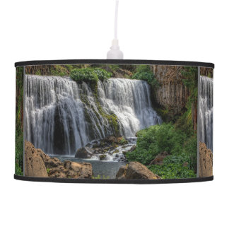 MIDDLE FALLS ON THE McCLOUD Hanging Pendant Lamp