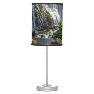 MIDDLE FALLS ON THE McCLOUD Table Lamps