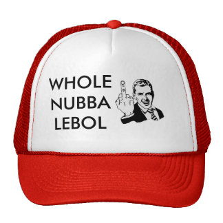 middle-finger2, WHOLENUBBALEBOL Trucker Hat