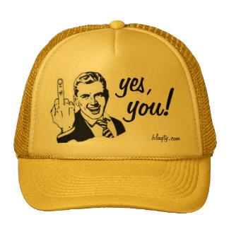 Middle finger hat