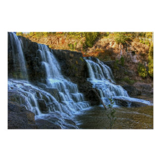 Middle Gooseberry Falls Poster