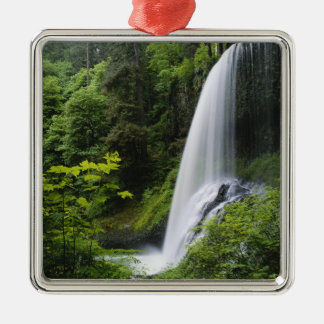 Middle North falls, Silver Falls State Park, Metal Ornament