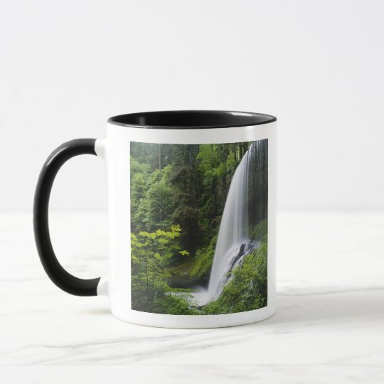 Middle North falls, Silver Falls State Park, Mug