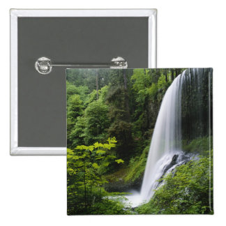 Middle North falls, Silver Falls State Park, Pinback Button
