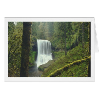 Middle-North Silver Falls Card