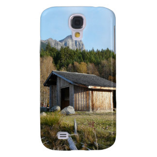 Middle of Nowhere Rustic Cabin Scene Galaxy S4 Cover