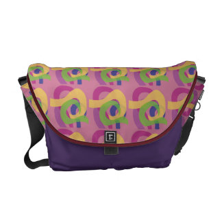 Middle of Question Messenger Bag