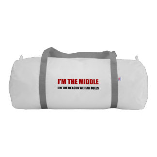 Middle Reason For Rules Gym Bag
