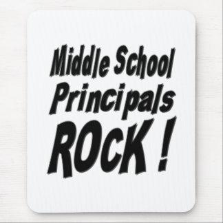 Middle School Principals Rock! Mousepad