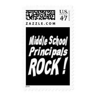 Middle School Principals Rock ! Postage
