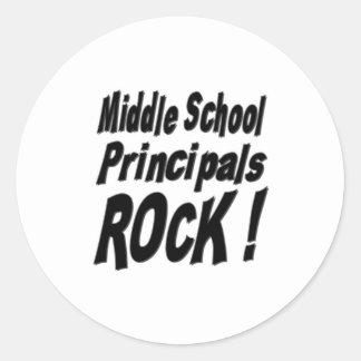 Middle School Principals Rock! Sticker