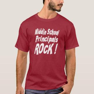 Middle School Principals Rock! T-shirt