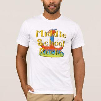Middle School Rocks - Guitar T-Shirt